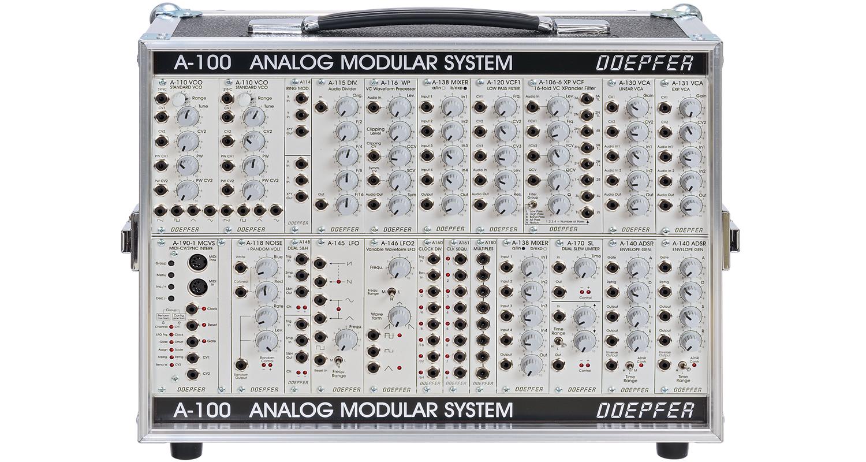 A 100 analog modular system