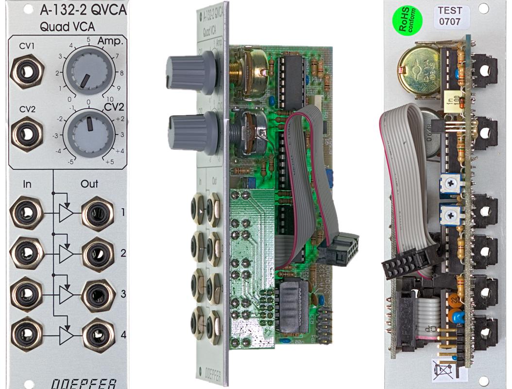 Doepfer A-132-2 Quad VCA Module