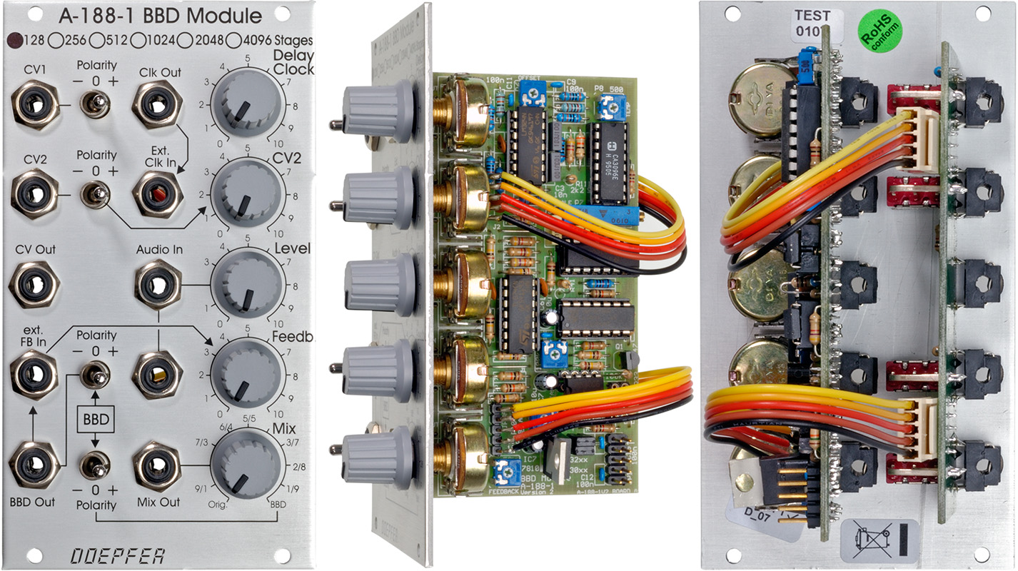 A 188 1 Bbd Module One Second Audible Clock