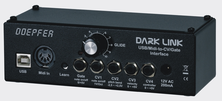 Doepfer Dark Link USB//MIDI-to-CV//Gate-Interface
