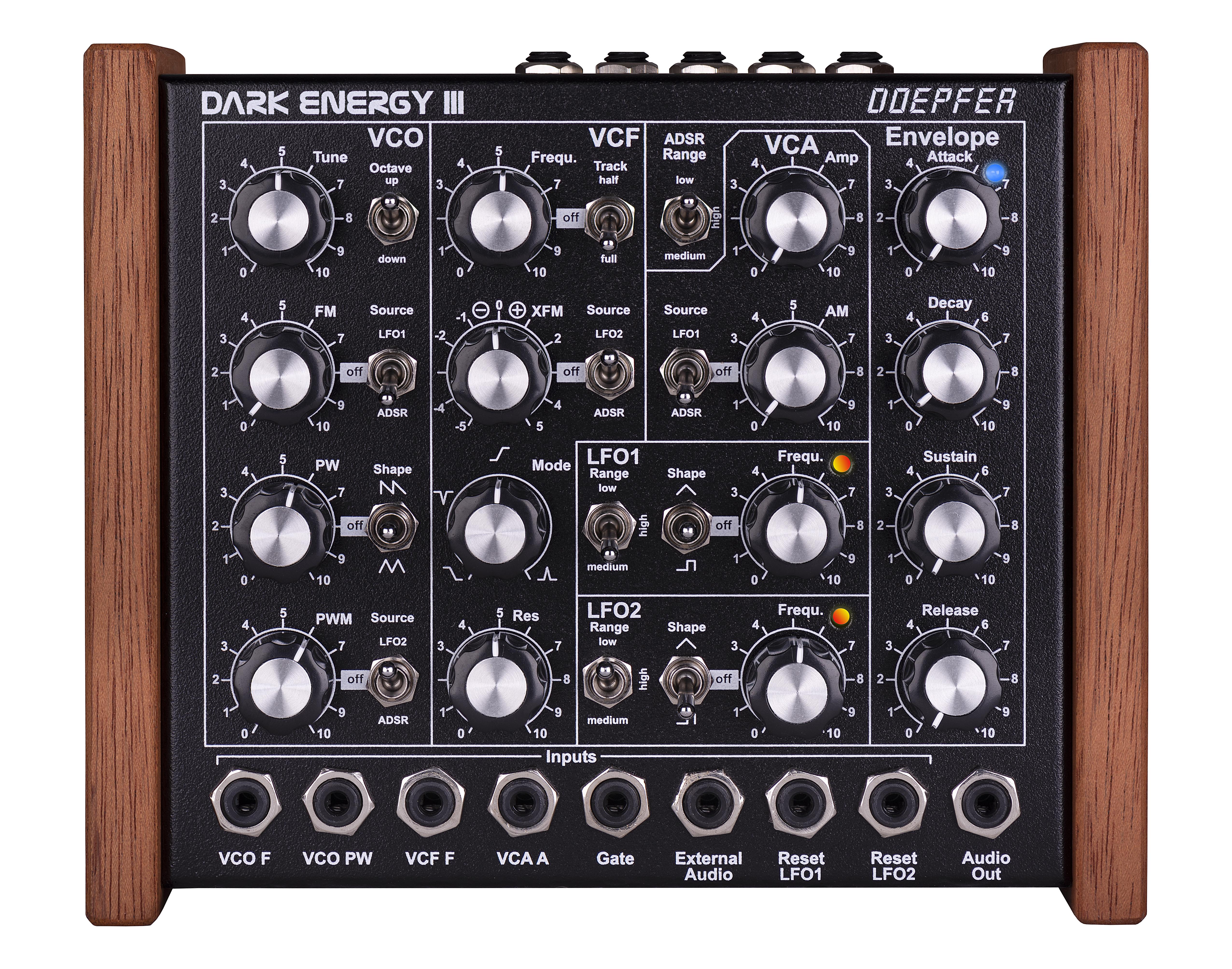 Dark Energy Iii Low Distortion Audio Range Oscillator